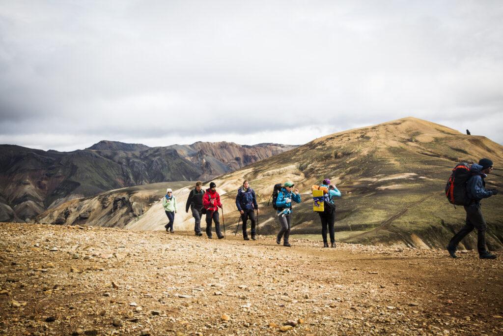 IJsland groep Higland Explorer