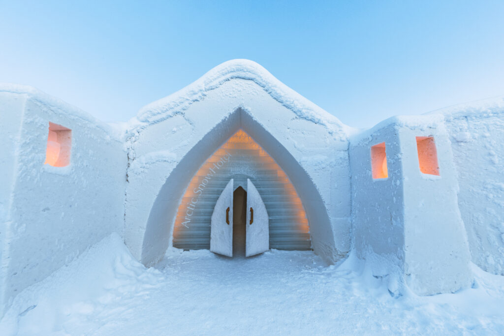 Sneeuwhotel Rovaniemi Finland