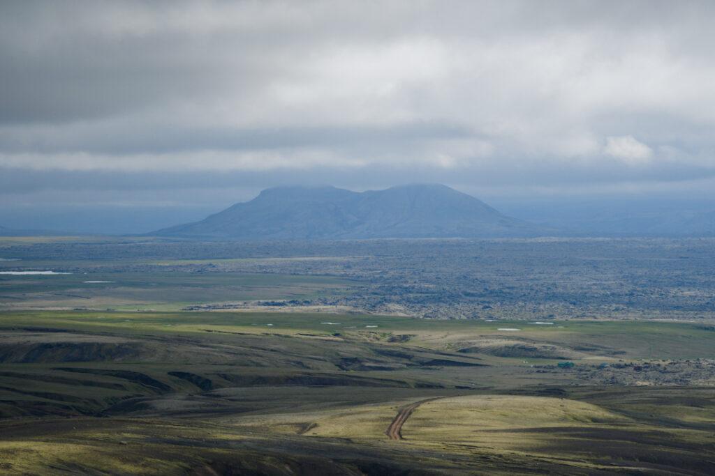 F-206 naar Laki IJsland binnenland